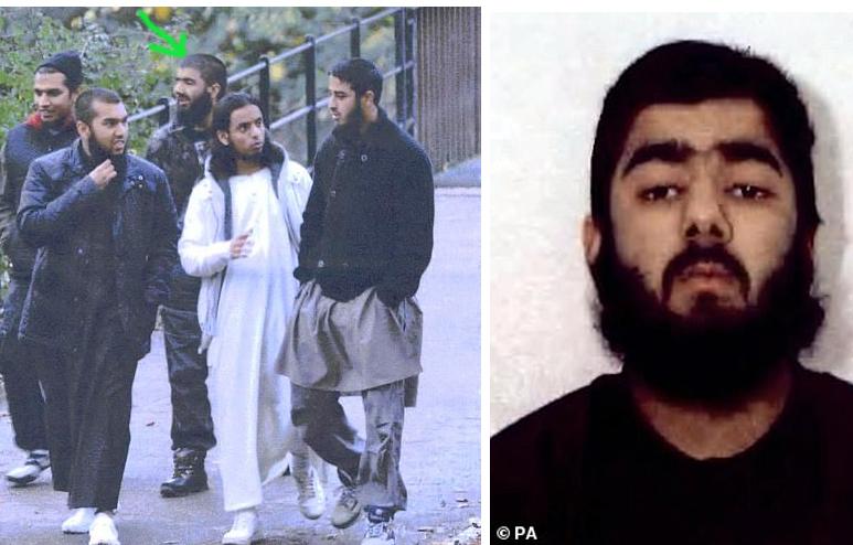 شاهد القبض على إرهابي قتل شخصين طعنا وسط لندن