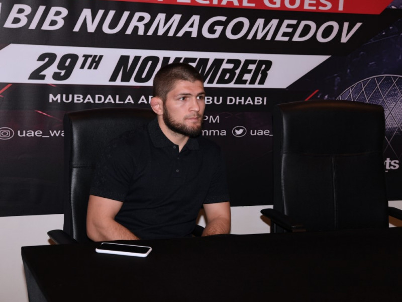 خبيب نور محمدوف: محاربو الإمارات أقوى بطولة في الشرق الأوسط