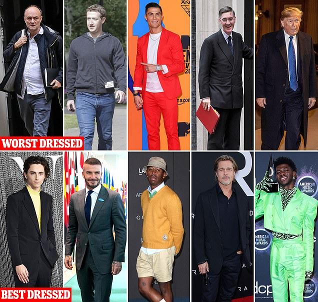 شاهد ملياردير وملك ورئيس ضمن قائمة جي كيو لـ أسوأ الرجال أناقة
