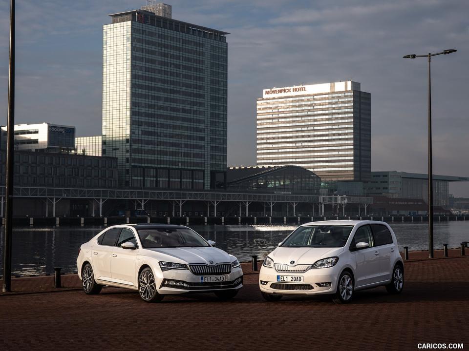 بالصور أحدث السيارات الكهربائية من سكودا