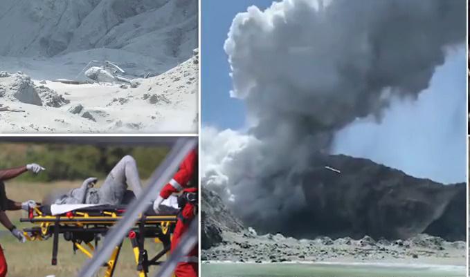 مقتل خمسة على الأقل في ثورة بركان وايت أيلاند