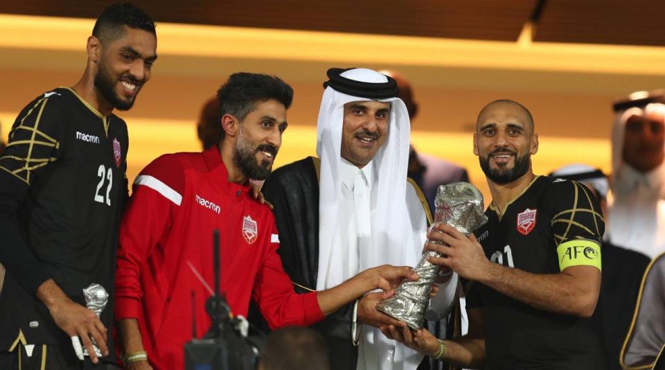 بالصور: البحرين تتوّج بكأس الخليج الـ24