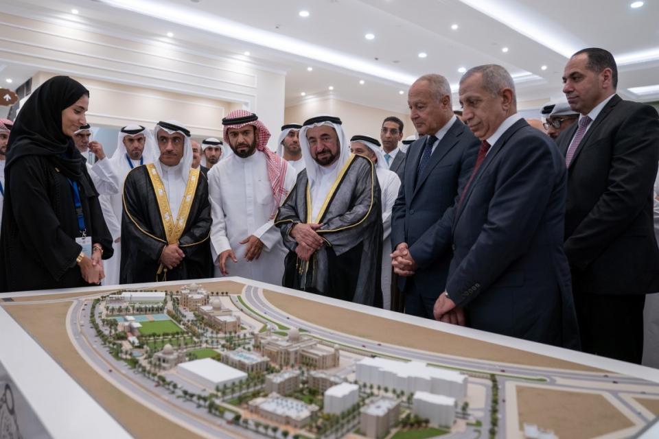 فيديو: افتتاح الأكاديمية العربية للعلوم والتكنولوجيا والنقل البحري بخورفكان