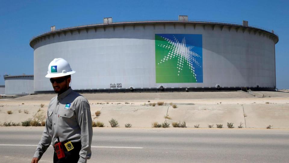 أرامكو تحقق هدف التريليوني دولار لولي العهد السعودي