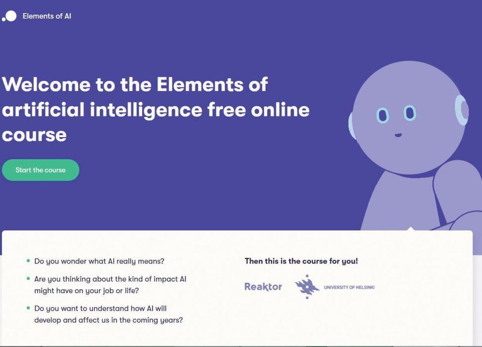 مقرر مجاني معترف به للذكاء الاصطناعي بلغات أوروبية والعربية قد تتوفر قريبا
