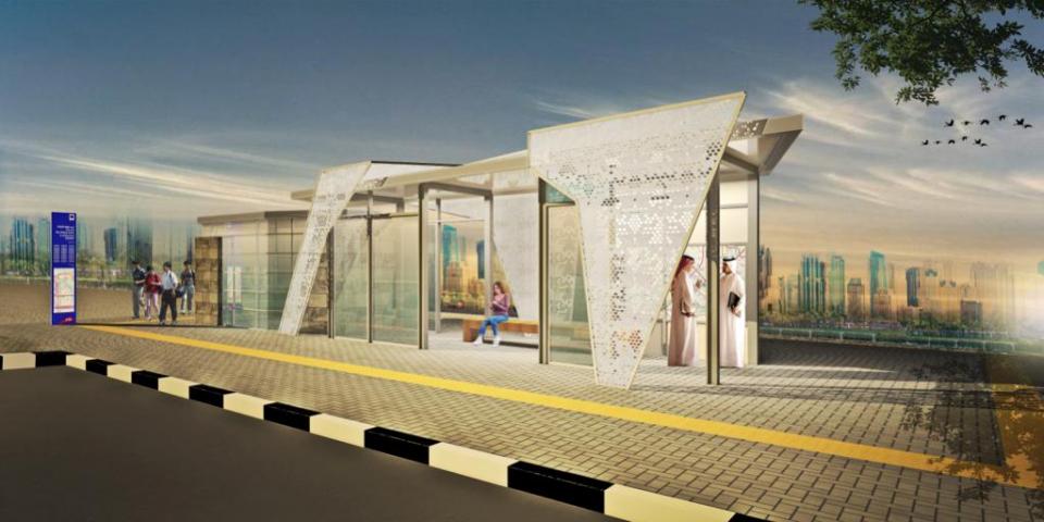 طرق دبي تدعو القطاع الخاص للمشاركة في تنفيذ 1500 مظلّة لركاب الحافلات