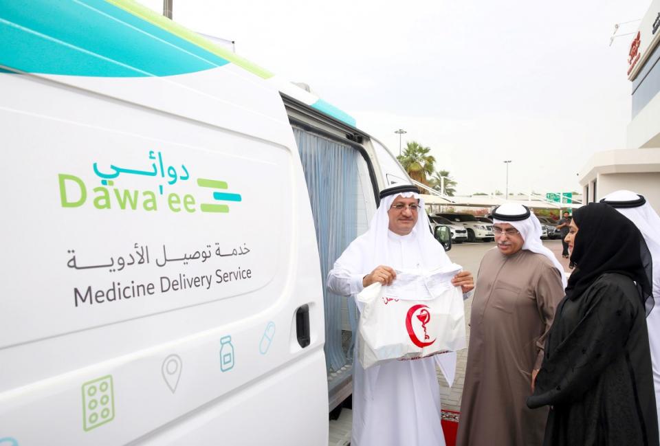 صحة دبي تطلق خدمة توصيل الدواء للمنازل مجاناً