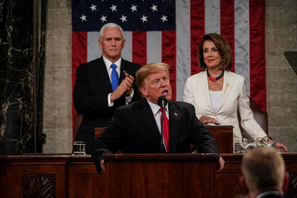 ترامب يقبل دعوة بيلوسي لإلقاء خطاب حالة الاتحاد في 4 فبراير