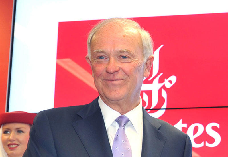 رئيس طيران الإمارات سير تيم كلارك يتقاعد في يونيو 2020