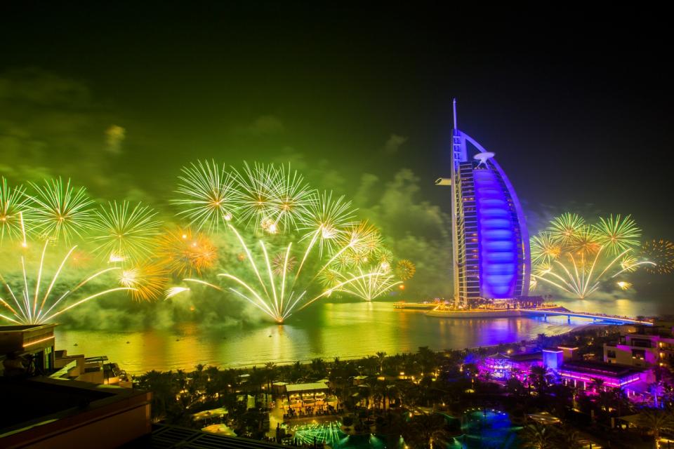 أبرز 25 فعالية للاحتفال في دبي برأس السنة الجديدة 2020