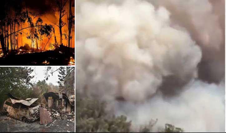 نيران الحرائق تحاصر قرابة 30 ألف سائح في استراليا