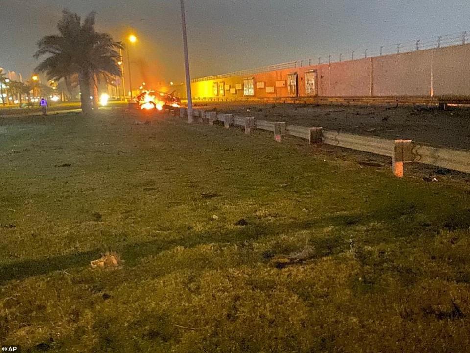شاهد ضربة جوية تقتل الجنرال الإيراني قاسم سليماني في بغداد