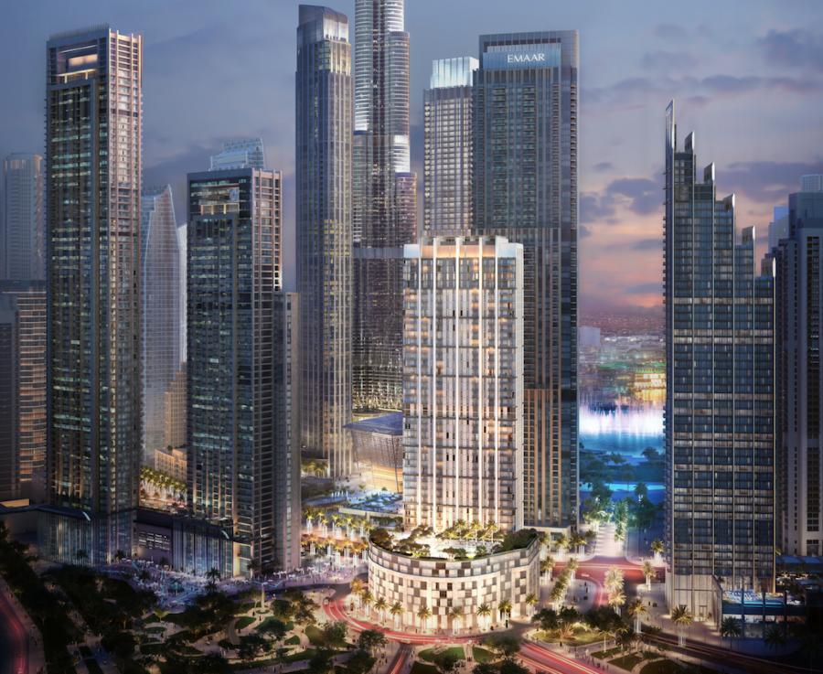 إعمار العقارية تكشف عن «برج كراون» الجديد وسط مدينة دبي