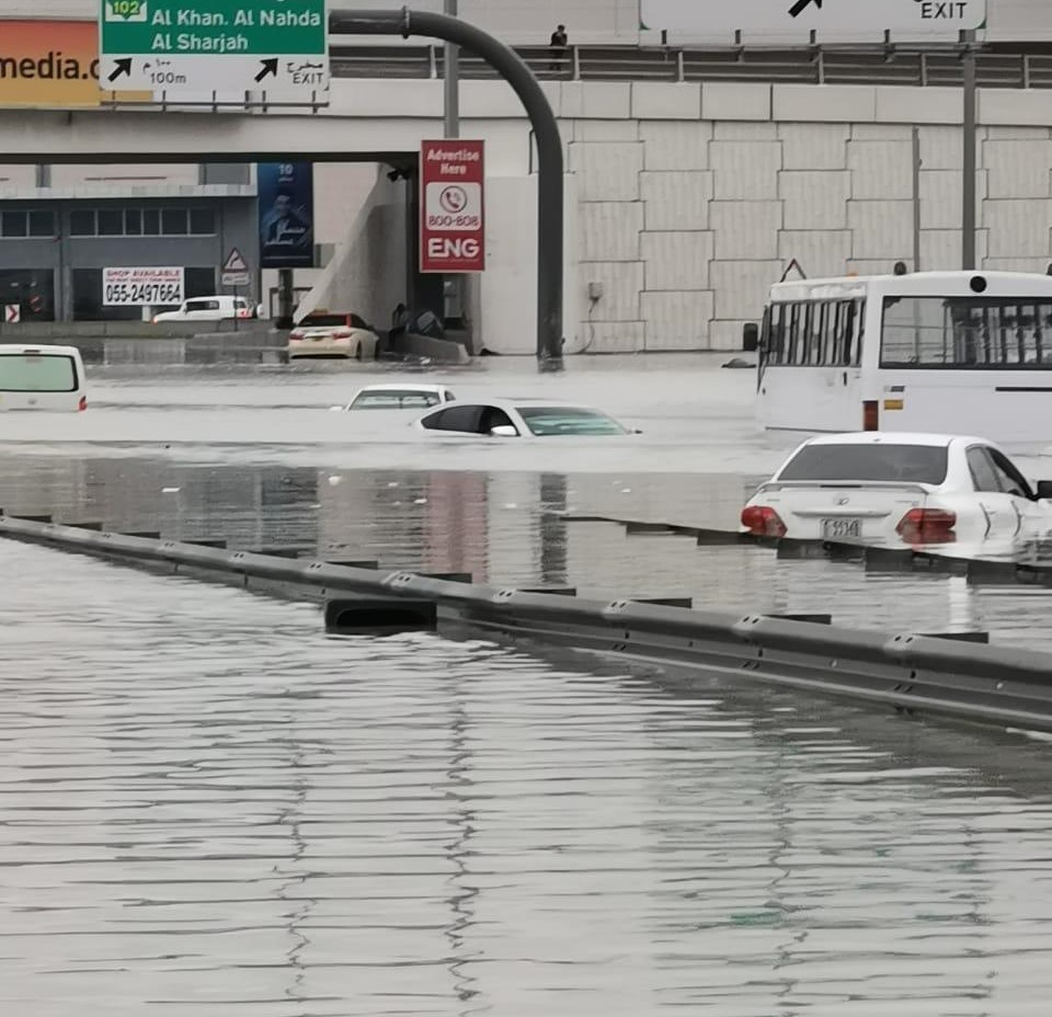 هيئة التأمين بالإمارات تكشف مصير السيارات المتضررة من الأمطار