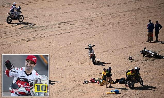 إلغاء مرحلة سباق بعد وفاة دراج برتغالي خلال رالي داكار في السعودية