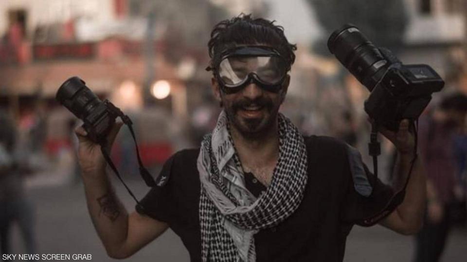 بالصور : ثورة فنية في احتجاجات العراق
