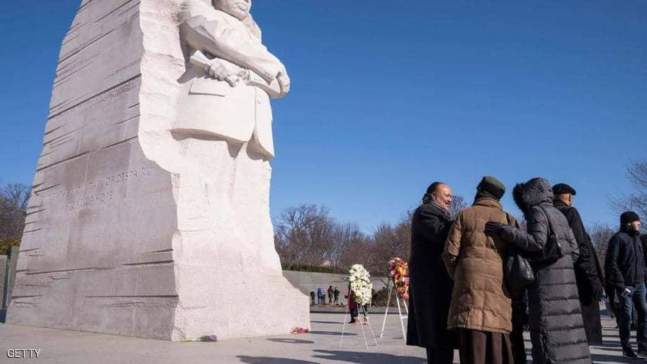بالصور : أميركا تستحضر ذكرى مارتن لوثر كينغ