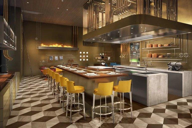 بالصور : لويس فيتون يفتتح أول مطعم له