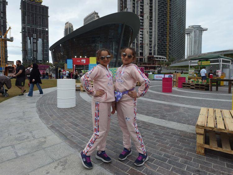 بالصور : الحدث الأكبر للتوائم في دبي