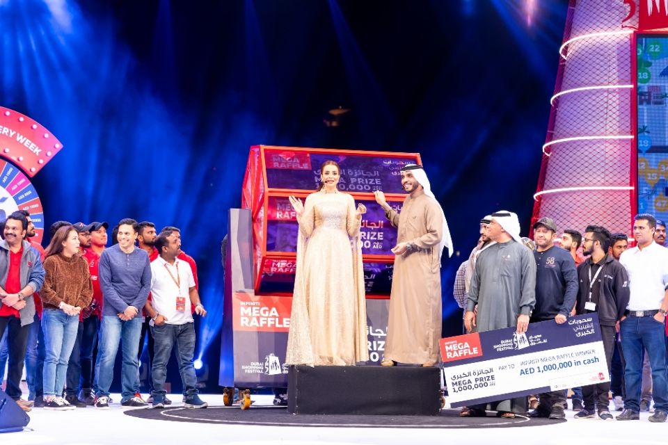 بالصور : الاحتفالات الختامية لمهرجان دبي للتسوّق تشهد مشاركة أكثر من 20،000 شخص