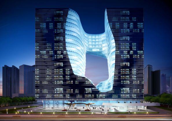 """فندق """"مي دبي"""" من تصميم الراحلة زها حديد يبدأ في استقبال الحجوزات"""