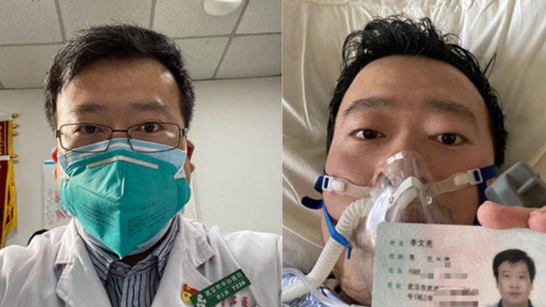 وفاة الطبيب الصيني الذي حذر زملاءه قبل تفشي فيروس كورونا