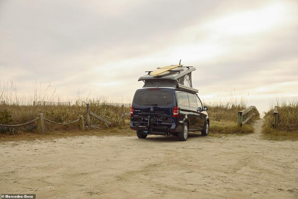 شاهد السيارة الخيمة طراز 2021  من مرسيدس