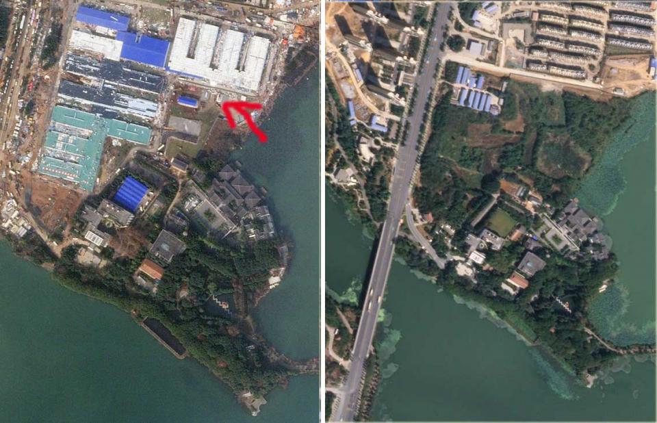 من الفضاء، شاهد كيف تجمد النشاط البشري في مدينة ووهان الصينية