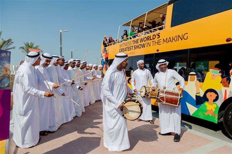 أكثر من 10 آلاف زائر استقبلهم إكسبو 2020 دبي ضمن الجولات التعريفية