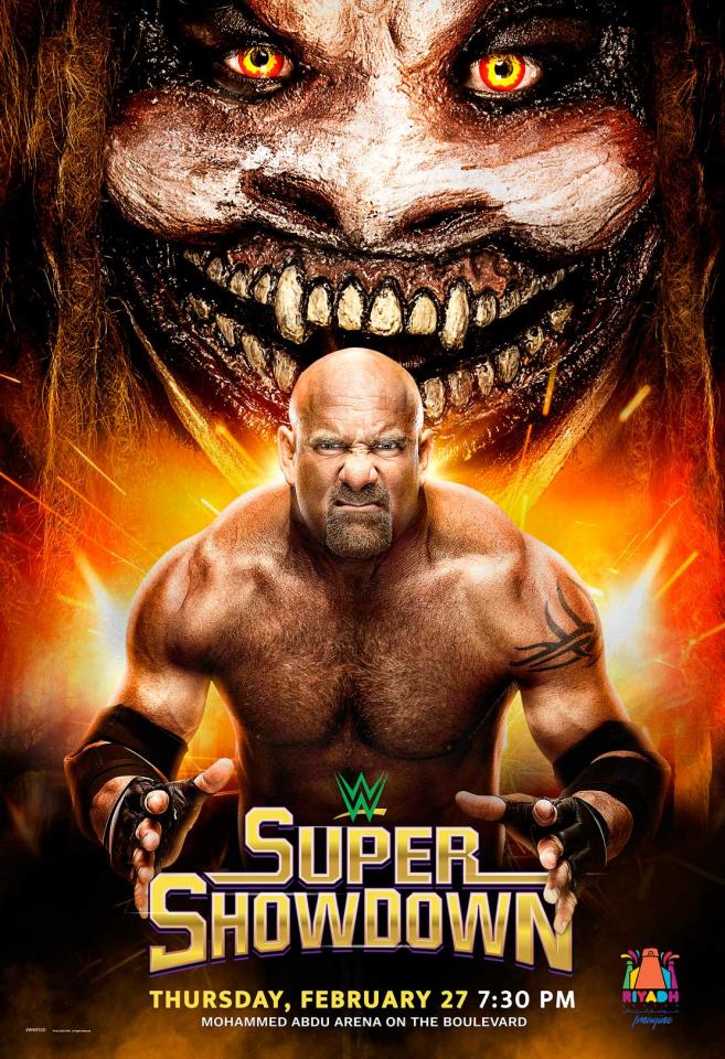 طرح تذاكر عرض WWE سوبر شوداون السعودية 2020