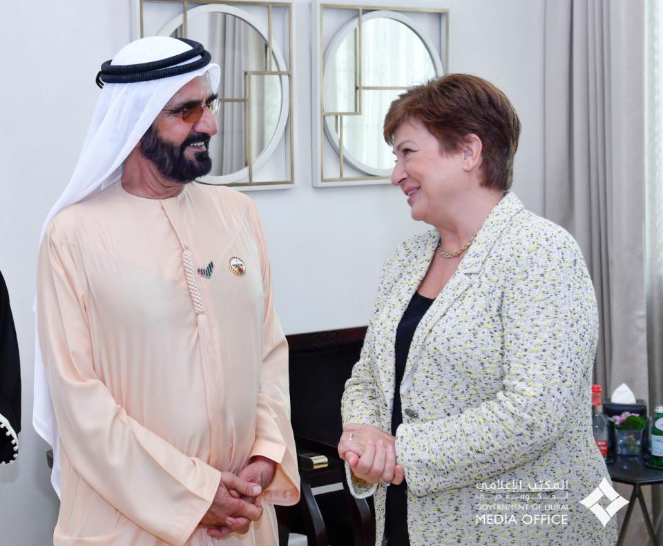 مديرة صندوق النقد الدولي تشيد بمعرض إكسبو دبي 2020