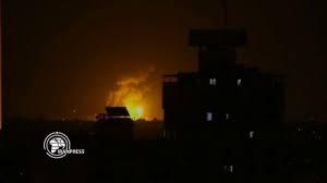 هجوم صاروخي وانفجارات تهز قاعدة للتحالف الأمريكي في بغداد