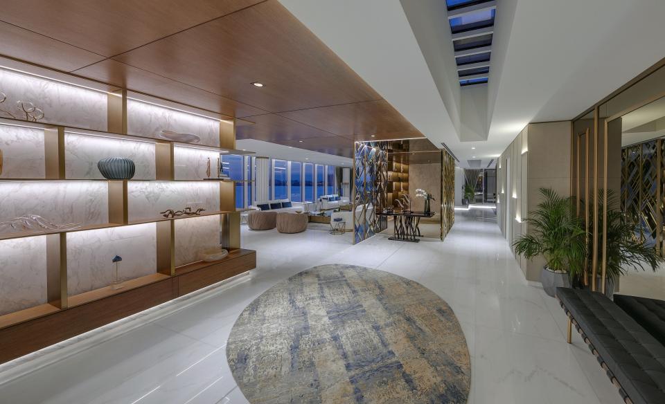 أفخم بنتهاوس في دبي بسعر 55 مليون درهم