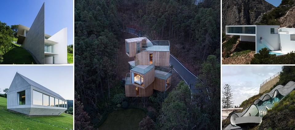 بالصور : منازل تتحدى الجاذبية في جميع أنحاء العالم