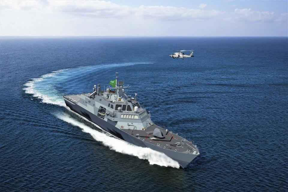 """انطلاق تمرين """"المدافع البحري"""" بين السعودية وأمريكا في الخليج"""