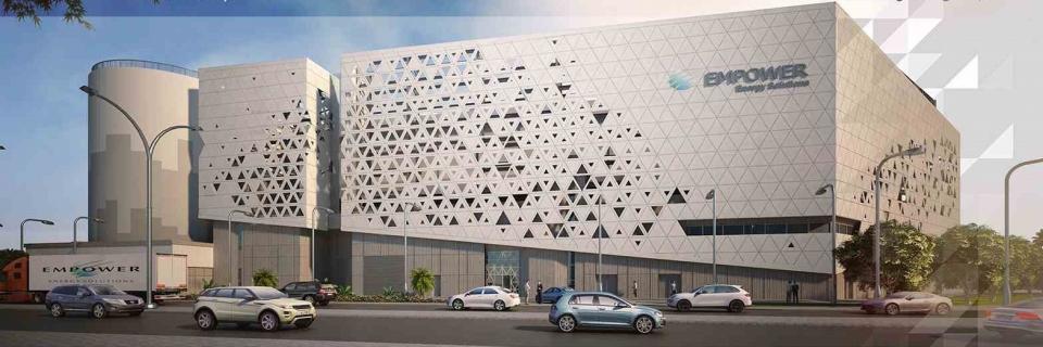 أول محطة تبريد ذاتية التشغيل في العالم تخدم 82 مبنى في دبي