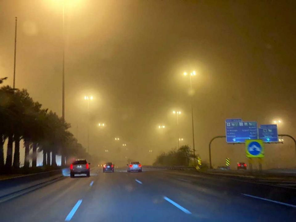 تحذير من تدني الرؤية مع وصول موجة غبار إلى العاصمة الرياض