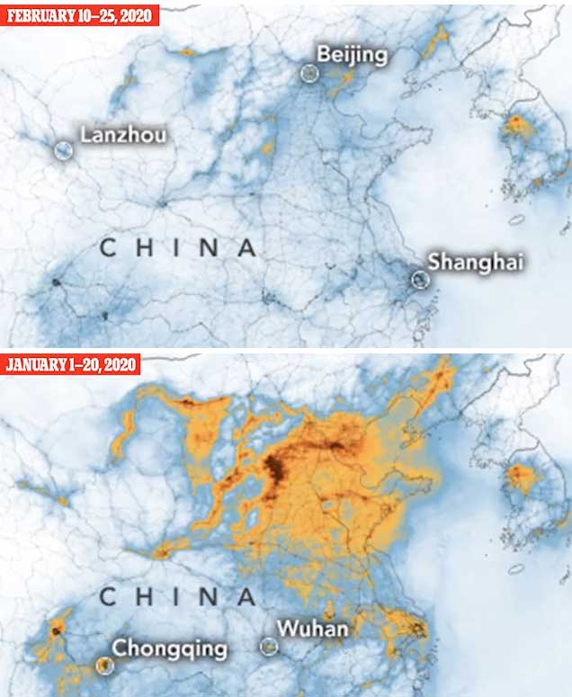 أخبار بالصور، انفجار صاروخ سبيس إكس الفضائي وانحسار التلوث في الصين