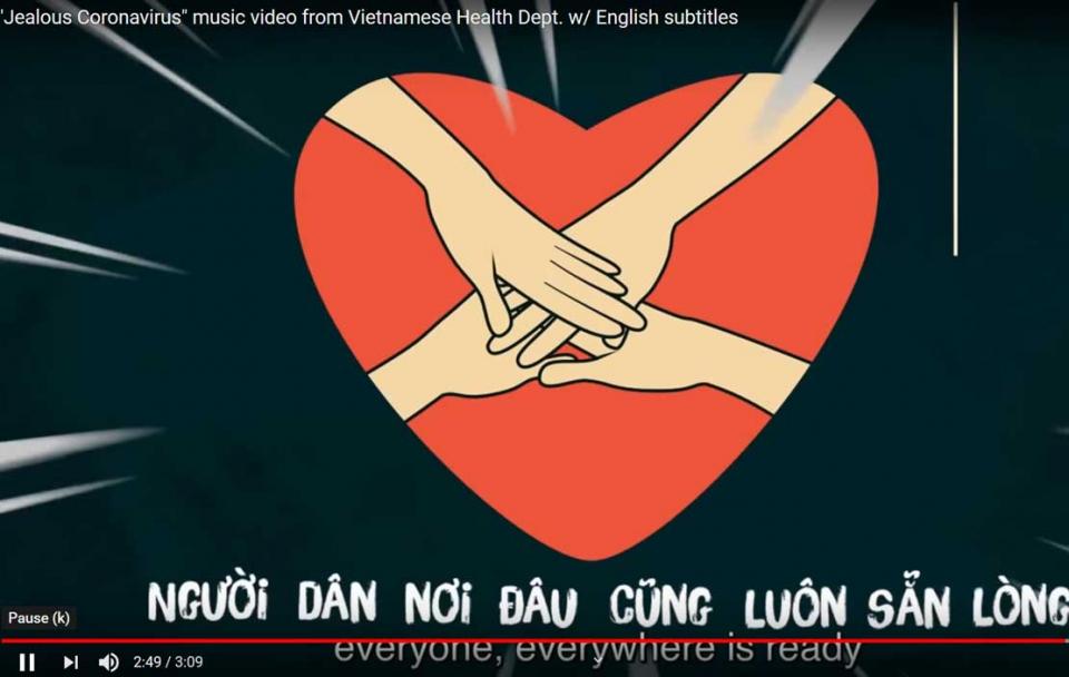 فيتنام تحتفي بشفاء مرضاها من كورونا بأغنية