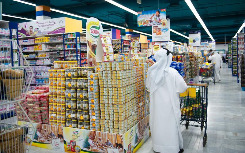2.1 % تراجع في أسعار سلة المستهلك بأبوظبي خلال فبراير
