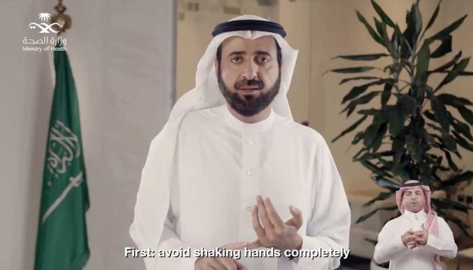 مليوني مشاهدة لنصائح وزير الصحة السعودي