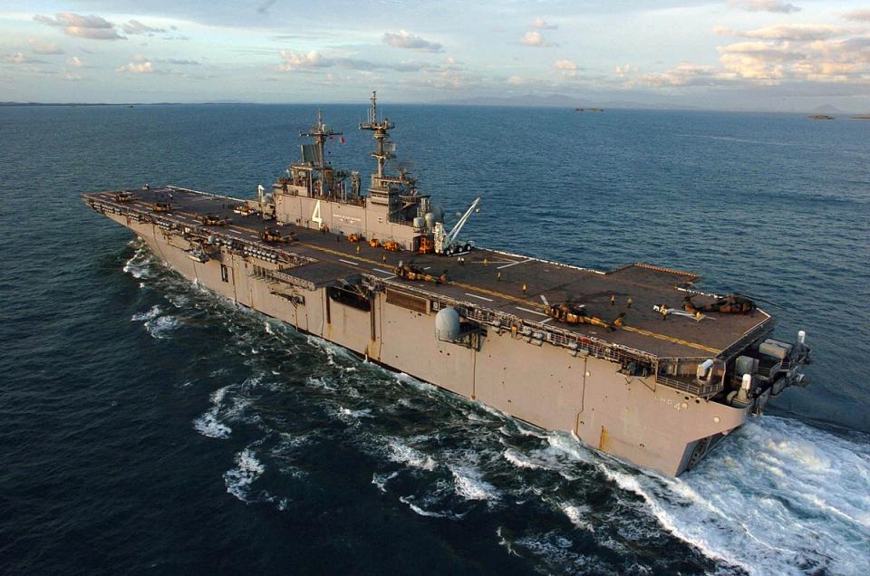 اكتشاف إصابة أول بحار على سفينة حربية أمريكية بفيروس كورونا