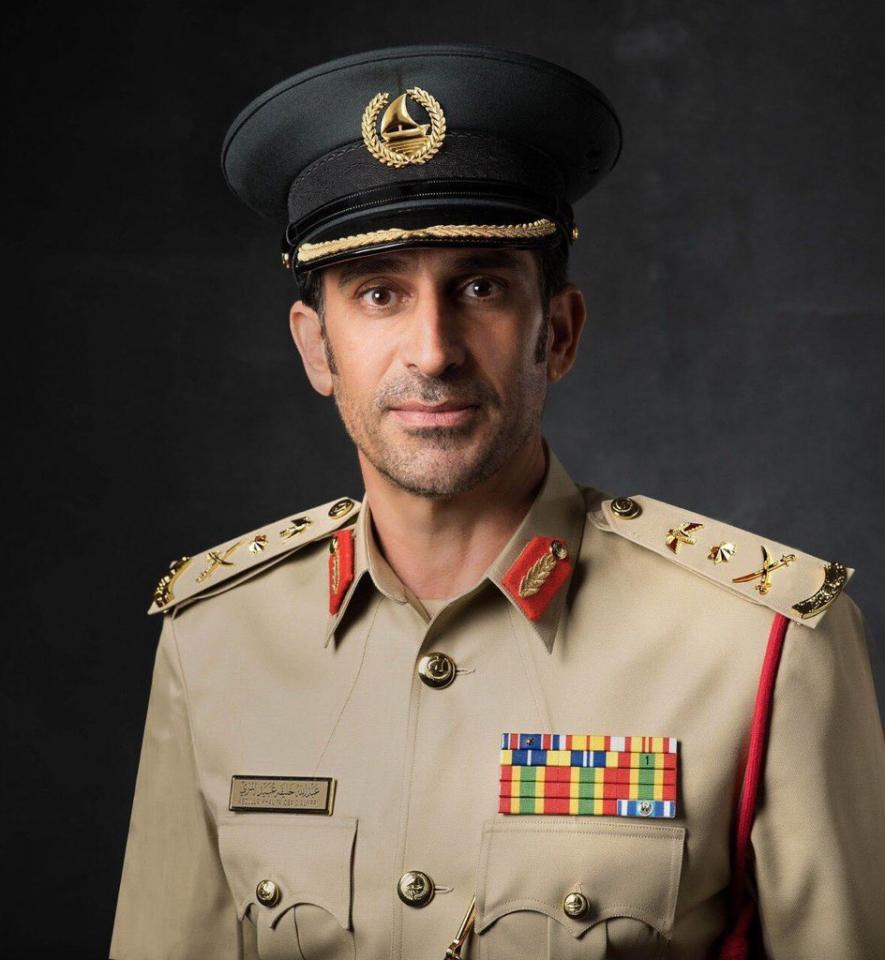 ترقية عبدالله خليفة المري قائد عام شرطة دبي إلى رتبة فريق