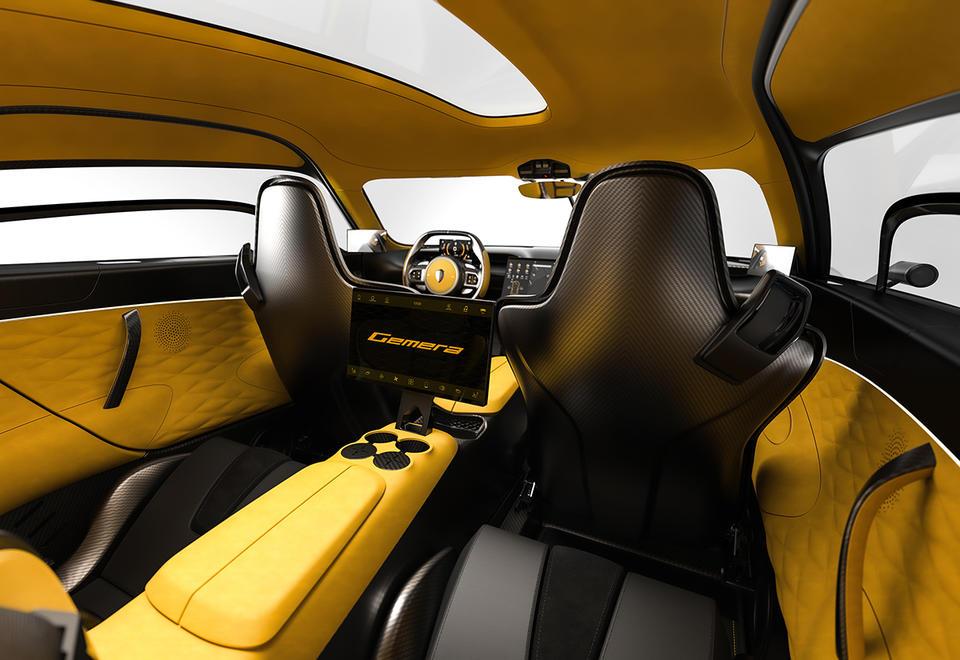 بالصور : سيارة كوينغزيغ جيميرا 2021 الجديدة تماماً