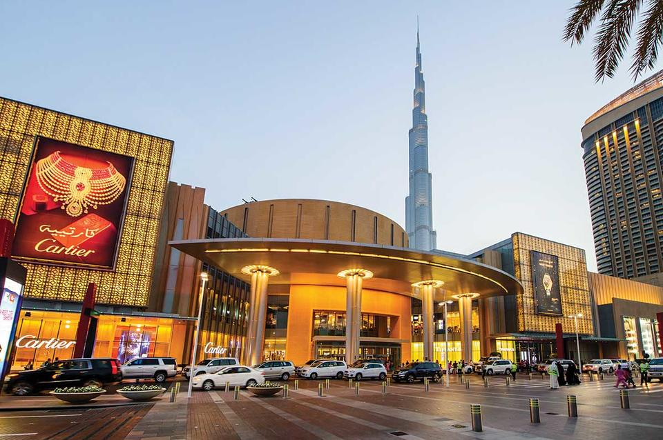 المحلات التجارية في مول دبي تتحول إلى منصة نون