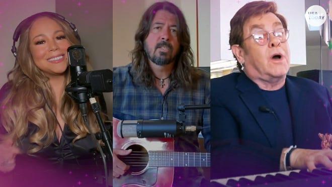 البث عبر الإنترنت يصبح خيار الغناء مع حفل خيري جمع 8 ملايين دولار