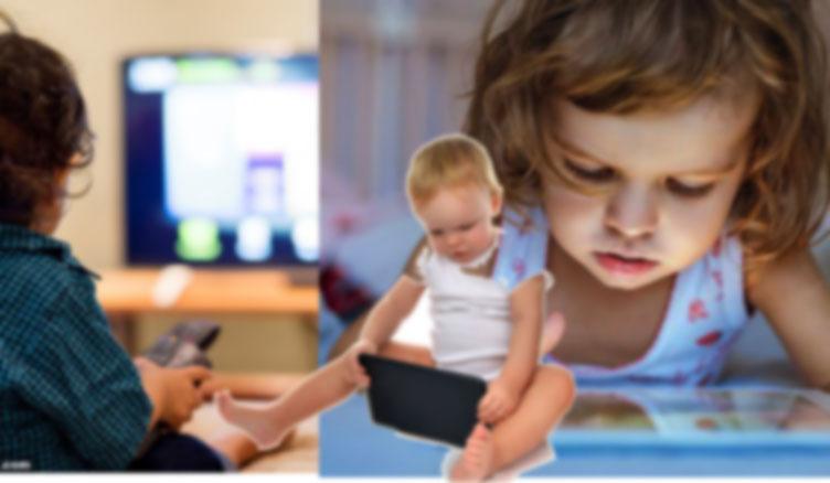 التحذير من اصابة الأطفال بالتوحد بسبب النظر إلى الشاشات