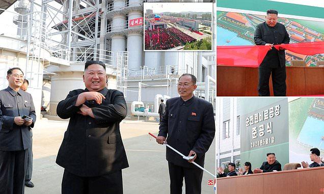 ظهور زعيم كوريا الشمالية بعد شائعات وفاته