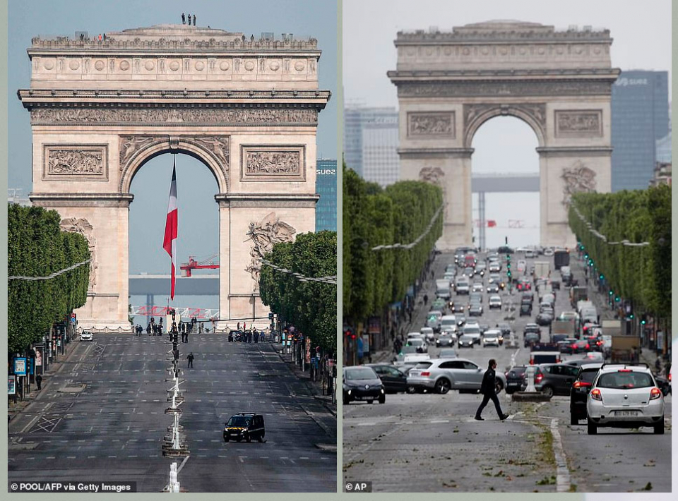 شاهد الأخبار بالصور، عودة الحياة تدريجيا في مدن حول العالم