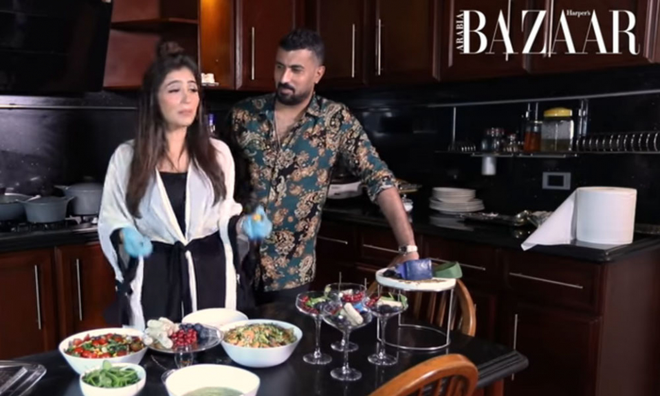 شاهدي مي عمر تعد الإفطار مع زوجها في رمضان 2020
